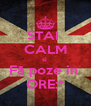STAI  CALM si  Fă poze in  ORE:* - Personalised Poster A4 size