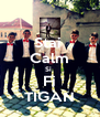 Stai  Calm Si  Fi TIGAN - Personalised Poster A4 size