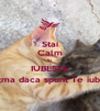 Stai Calm Si IUBESTE Iarta;ma daca spunt Te iubesc;) - Personalised Poster A4 size