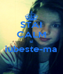STAI CALM si iubeste-ma  - Personalised Poster A4 size