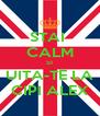 STAI  CALM SI UITA-TE LA CIPI ALEX - Personalised Poster A4 size