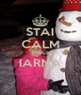 STAI CALM TRECE IARNA  - Personalised Poster A4 size