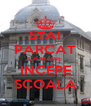 STAI PARCAT CA MAINE INCEPE SCOALA - Personalised Poster A4 size