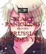 START PANICKING BEFORE PRUSSIA INVADES YOU - Personalised Poster A4 size