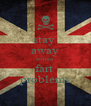 stay  away serious  fart  problems - Personalised Poster A4 size