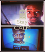 Stay CALM Gotta  Go for 30 - Personalised Poster A4 size