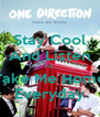 Stay Cool And Listen To  Take Me Home Everyday - Personalised Poster A4 size