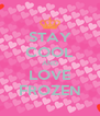 STAY COOL AND LOVE FROZEN - Personalised Poster A4 size