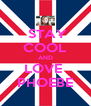 STAY COOL AND LOVE  PHOEBE - Personalised Poster A4 size
