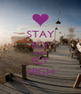 STAY FLY AND FLY HIGH - Personalised Poster A4 size
