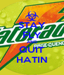 STAY FLY AND QUIT HATIN - Personalised Poster A4 size