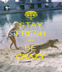 STAY FRESH and BE CRAZY - Personalised Poster A4 size