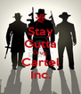 Stay Gutta Drug Cartel Inc. - Personalised Poster A4 size