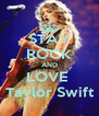 STAY ROCK AND LOVE  Taylor Swift - Personalised Poster A4 size
