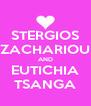 STERGIOS ZACHARIOU AND EUTICHIA TSANGA - Personalised Poster A4 size