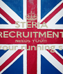 STERIA RECRUITMENT NEEDS YOU!!! (and your running shoes)  - Personalised Poster A4 size