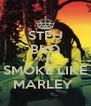 STFU BRO AND SMOKE LIKE MARLEY  - Personalised Poster A4 size
