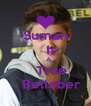 Suman    Is     A    True    Belieber - Personalised Poster A4 size