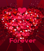 Suman Justin   Love  You  Forever - Personalised Poster A4 size