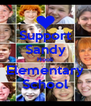 Support Sandy Hook Elementary School - Personalised Poster A4 size