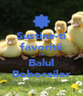 Sustine-ti favoritii la Balul Boboceilor - Personalised Poster A4 size