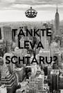 TÄNKTE LEVA LIFE SCHTÅRU?  - Personalised Poster A4 size