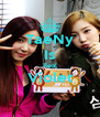 TaeNy Is Real Violet  - Personalised Poster A4 size