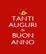 TANTI AUGURI DI BUON ANNO - Personalised Poster A4 size
