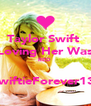 Taylor Swift  Loving Her Was RED   ~SwiftieForever13~  - Personalised Poster A4 size