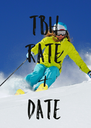 TBH RATE & DATE - Personalised Poster A4 size