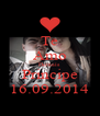 Te Amo Demais Principe 16.09.2014 - Personalised Poster A4 size