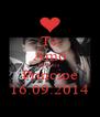 Te Amo Demais Principe 16.09.2014 - Personalised Poster A4 size