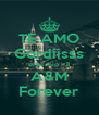 TE AMO Gordiisss eres mio <3 A&M Forever - Personalised Poster A4 size