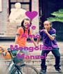 Te Amo Mi Mongolito Manuel - Personalised Poster A4 size