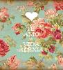 TE  AMO MI VIDA -ALEXIA- - Personalised Poster A4 size