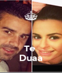 Te  Duaa - Personalised Poster A4 size
