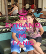 TE EXTRANO MUCHO MI FANIS - Personalised Poster A4 size