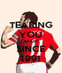TEARING YOU APART SINCE 1991 - Personalised Poster A4 size