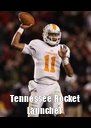 Tennessee Rocket Launcher - Personalised Poster A4 size