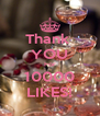 Thank  YOU For 10000 LIKES! - Personalised Poster A4 size