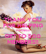 THANK YOU FOR HELPING VAOBSS GET TO 500 MEMBERS!! - Personalised Poster A4 size