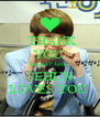 THANK  YOU  Inspirit7_love    SEHUN  LOVES YOU  - Personalised Poster A4 size