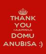 THANK YOU TAJEMNICE DOMU ANUBISA :) - Personalised Poster A4 size