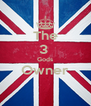 The 3  Gods Owner  - Personalised Poster A4 size