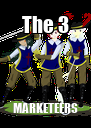 The 3 MARKETEERS - Personalised Poster A4 size