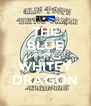 THE BLUE PEEPS WHITEY DRAGON - Personalised Poster A4 size