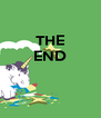 THE END    - Personalised Poster A4 size