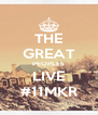 THE GREAT PEOPLES LIVE #11MKR - Personalised Poster A4 size