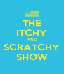 THE ITCHY AND SCRATCHY SHOW - Personalised Poster A4 size