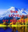 THE LOVE OF MY BREATH  - Personalised Poster A4 size